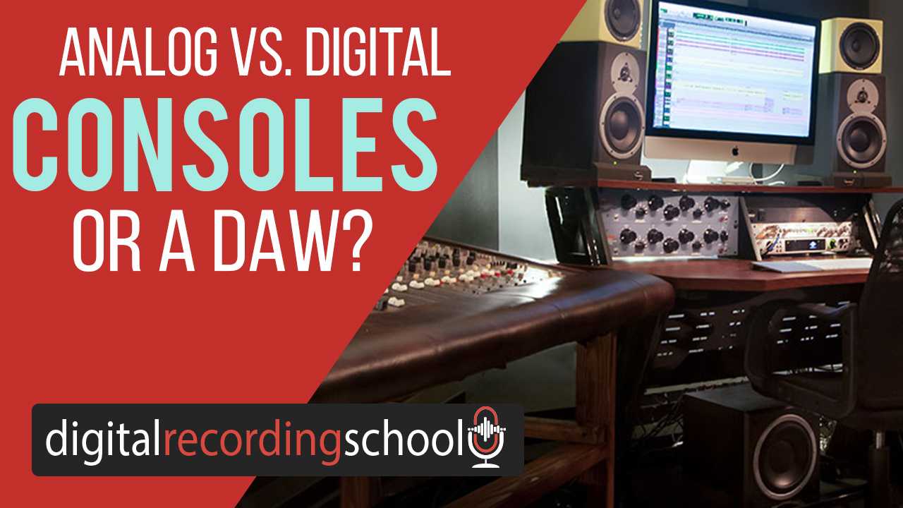 mixing in the box vs on a console digital recording school. Black Bedroom Furniture Sets. Home Design Ideas
