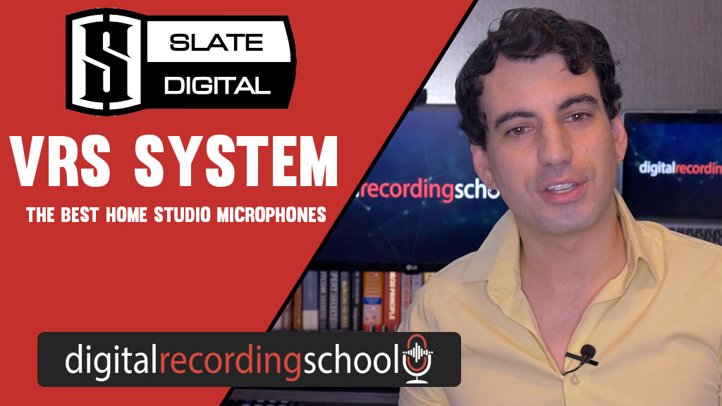 Blog cover page for Slate Digital VRS with photo of Tom Camp talking to the camera